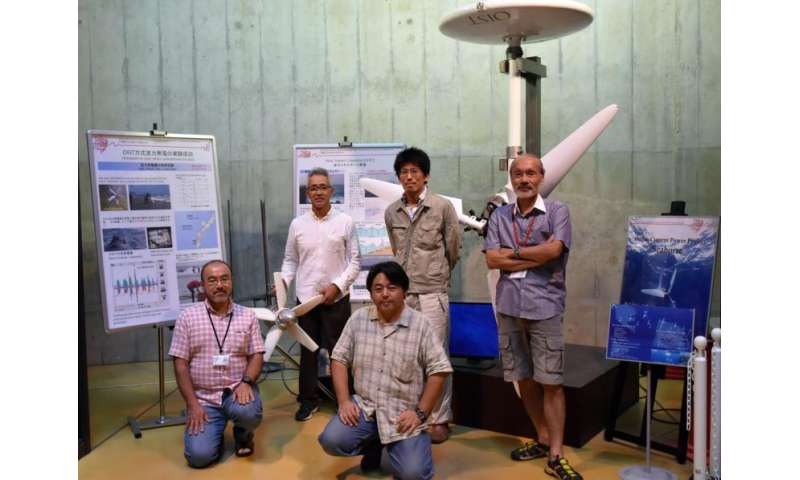 Engineers harness energy from the Kuroshio ocean current