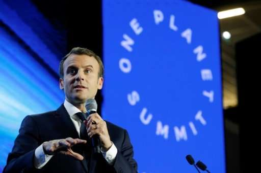 French President Emmanuel Macron will meet with world leaders on Tuesday, two years to the day since 195 nations adopted the cli