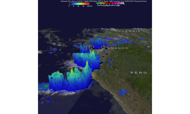 NASA examines Peru's deadly rainfall