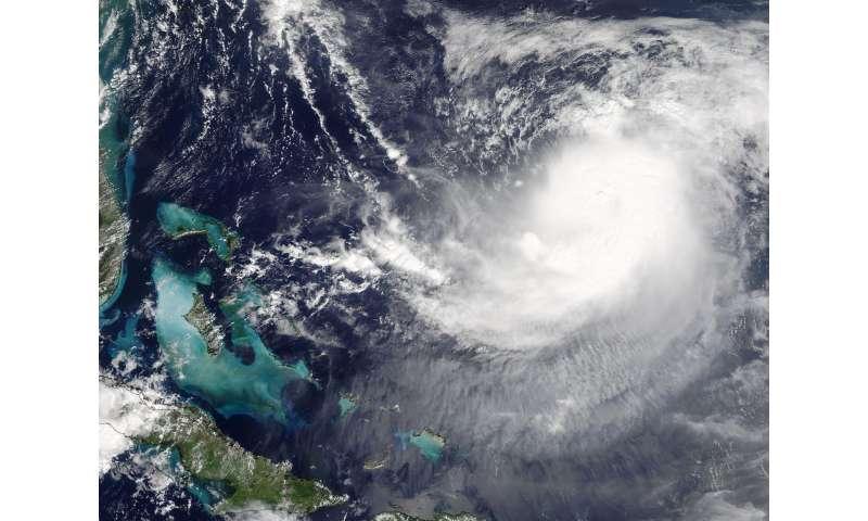 NASA sees Hurricane Jose in between Bahamas and Bermuda