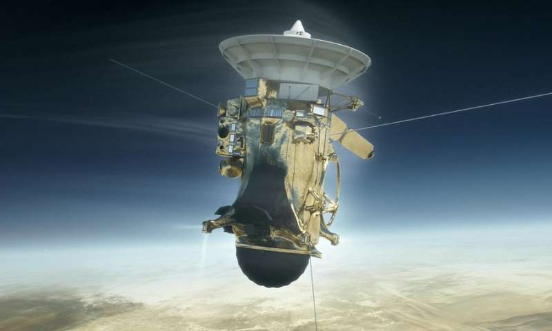 Reconstructing Cassini's plunge into Saturn