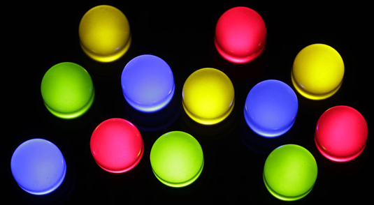 Researchers find novel technique for tuning the color of LED light emission