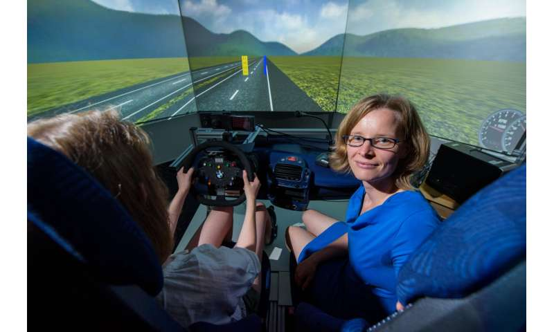 Researchers show that speech information is more distracting for elderly drivers