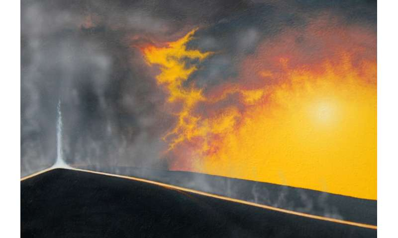 Researchers discover hottest lavas that erupted in past 2.5 billion years