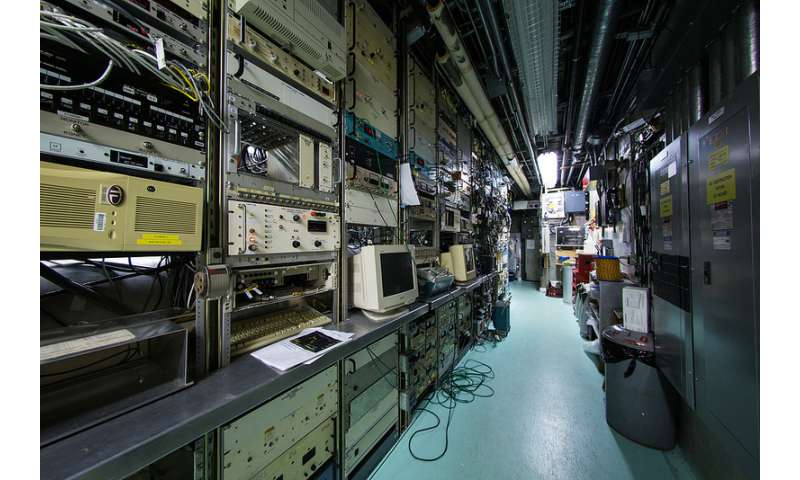 699 tons of SLAC's accelerator removed for upgrade
