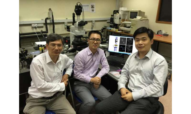 Engineers develop novel lens for super-resolution imaging