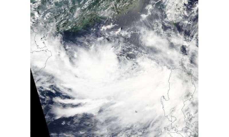 NASA's Aqua satellite finds a Tropical Cyclone sandwich