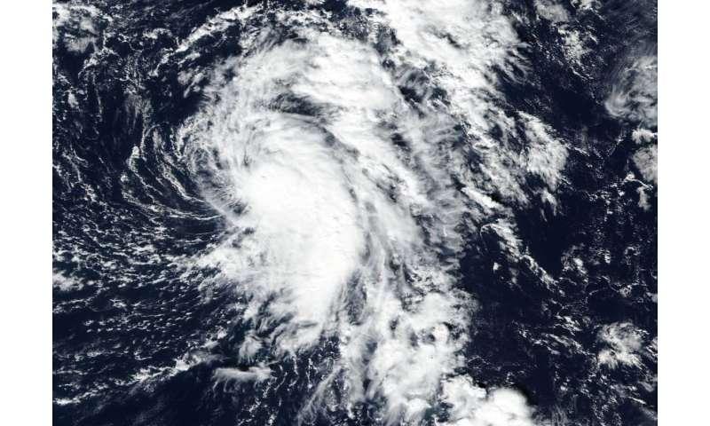 NASA tracking Atlantic's Tropical storm Rina