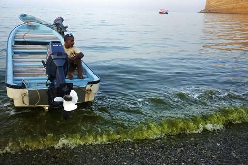 Growing algae bloom in Arabian Sea tied to climate change