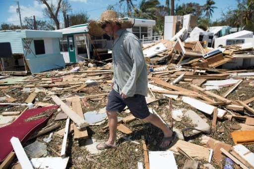 Hurricane Irma struck the Florida Keys as a Category Four storm earlier this month, before making its way north through the sout