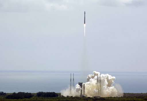 John Glenn honored with launch of space station supply ship