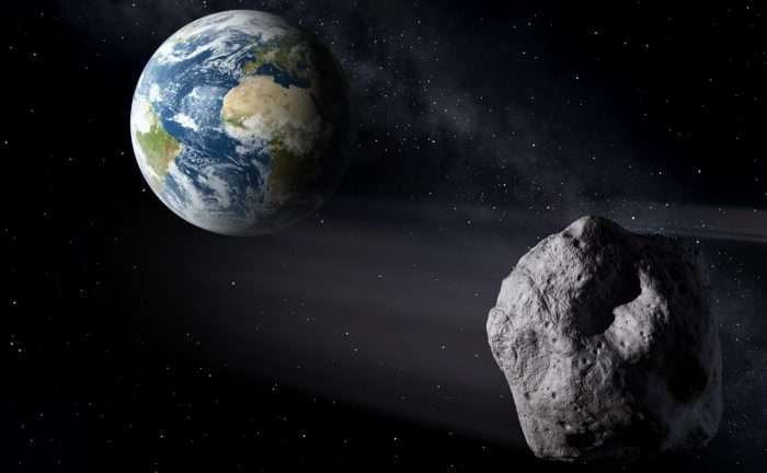 Newly discovered house-sized asteroid 2017 HX4 flies safely past the Earth