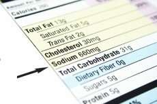 Researchers say nutritional labeling for sodium doesn't work