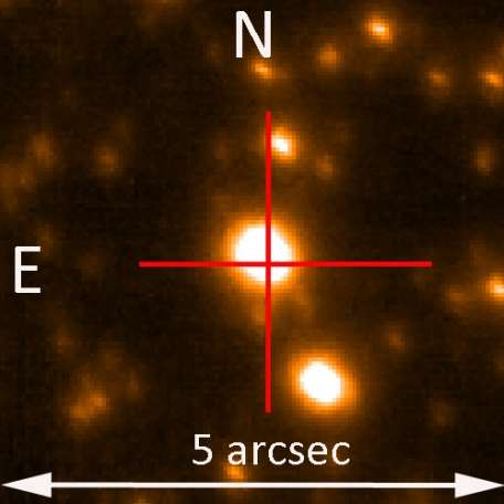 Astronomers discover new substellar companion using microlensing