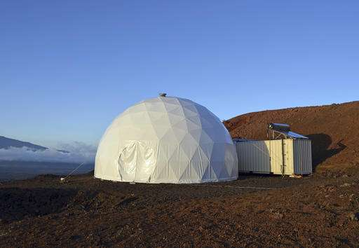 Scientists will live in a dome for 8 months to simulate Mars