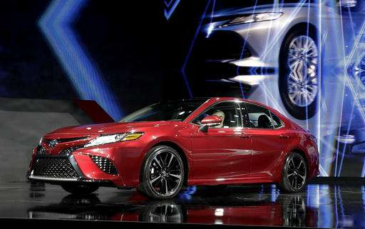 The 2018 Toyota Camry Is Presented At The North American International Auto  Show, Monday, Jan. 9, 2017, In Detroit. Toyota Unveiled The  Eighth Generation ...