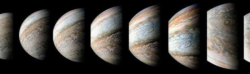95 minutes over Jupiter