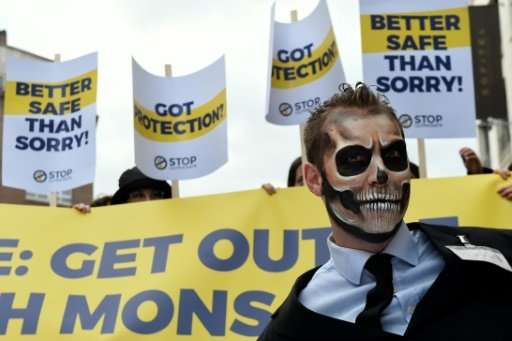 Activists have called for glyphosate to be banned