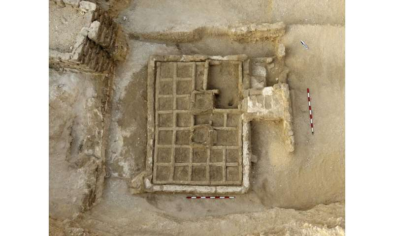 A first-ever find in Egypt: A funeral garden known of until now only through
