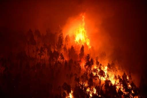 A huge fire killed 64 people and wounded 250 in the central Portugal region of Pedrogao Grande in June