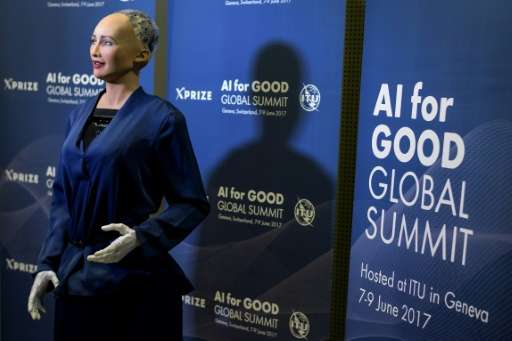 Ai Good For The World Says Ultra Lifelike Robot
