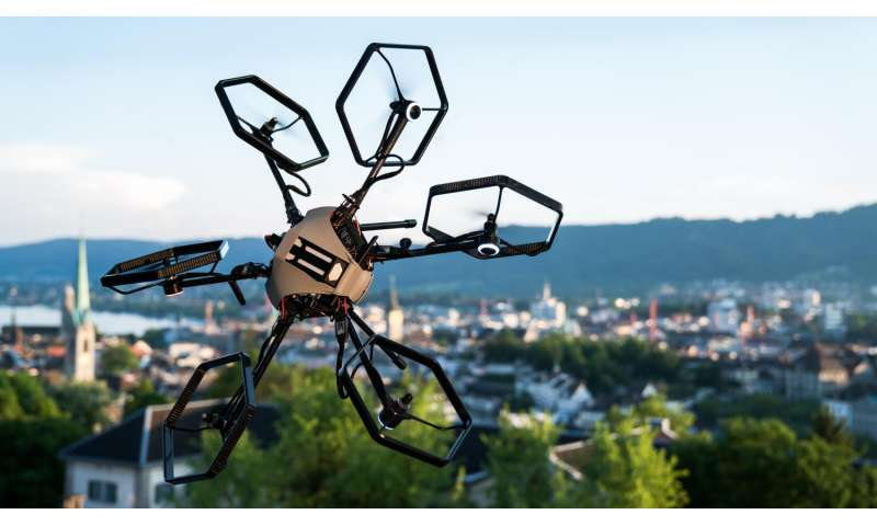 A little hexacopter shows off acrobatic moves