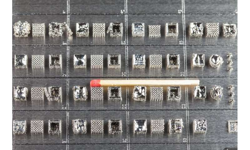 Alloys from the laser printer