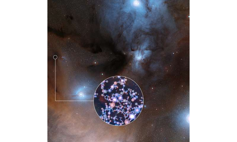 ALMA finds ingredient of life around infant Sun-like stars