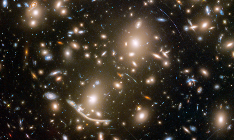 A lot of galaxies need guarding in this NASA Hubble view