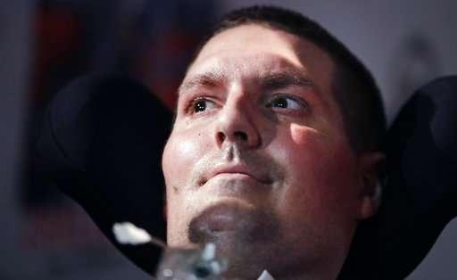 ALS patient behind ice bucket challenge: I will bounce back