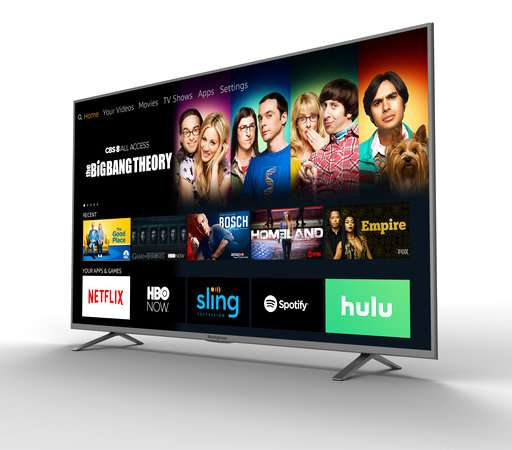 Amazon's streaming software powers new smart TVs