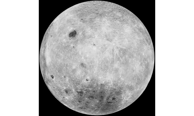 Ancient asteroid impact exposes the moon's interior