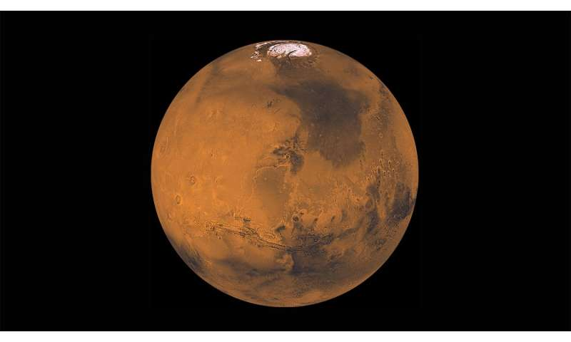 Ancient, massive asteroid impact could explain Martian geological mysteries