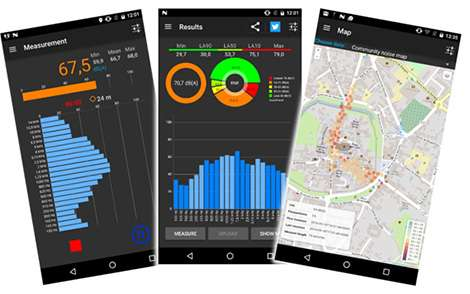 A new mobile application helps scientists map the sound environment