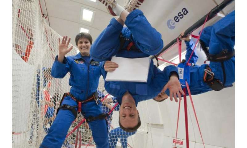 A new recruit for ESA's astronaut corps