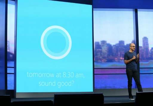 An update to Cortana  — Microsoft's digital assistant infused with artificial intelligence—enables it to recognize and make note