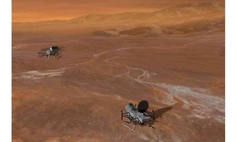 APL proposes Dragonfly mission to explore potential habitable sites on Saturn's largest moon
