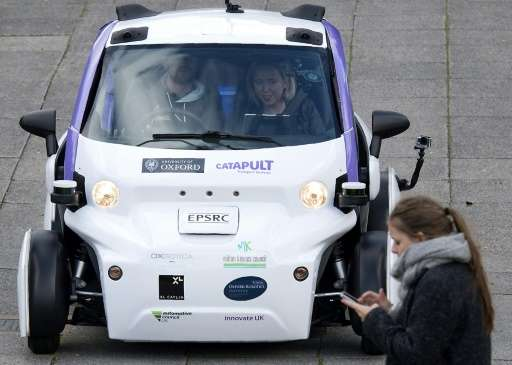 Apple has obtained a permit to test self-driving vehicles, putting the iPhone maker in competition with Google and others. Pictu