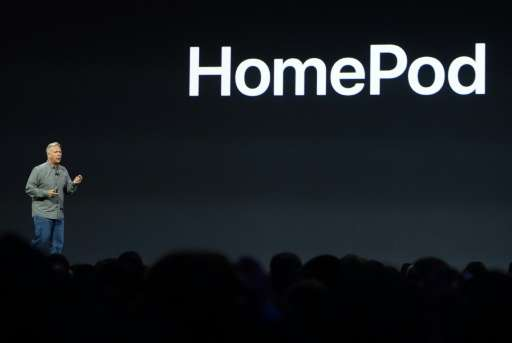 Apple senior vice Phil Schiller speaks during the Apple Worldwide Developer Conference in San Jose, California on June 5