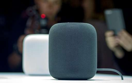 Apple's HomePod smart speaker enters a market segment dominated by Amazon and Google, but is being touted as a high-quality musi