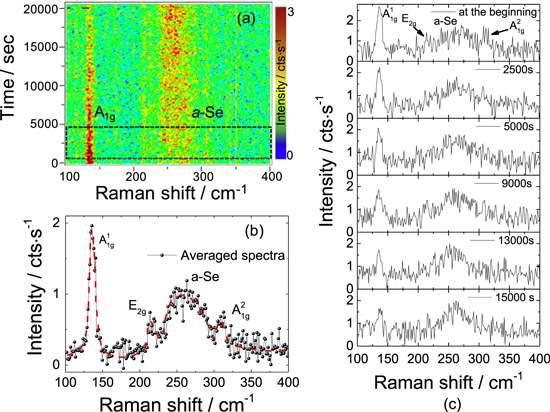 Application of air-sensitive semiconductors in nanoelectronics