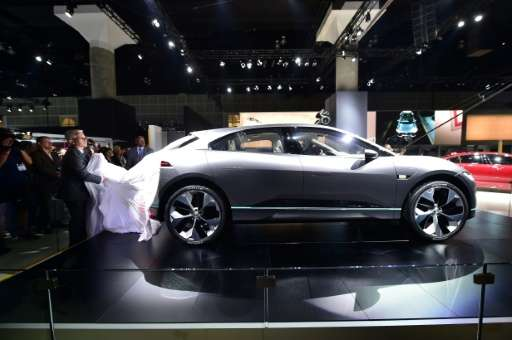 Jaguar revealed the auto of the future