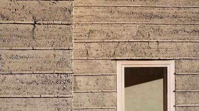 A revival in rammed-earth construction