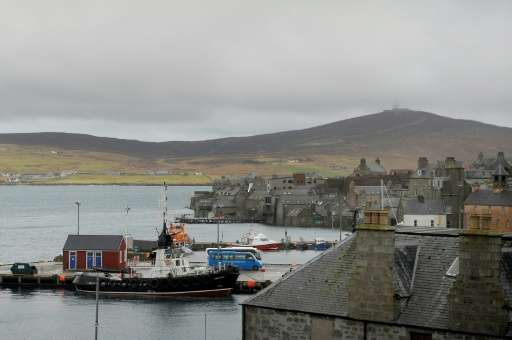 Around 10 percent of the Shetland Islands' electricity is generated from renewables and wind and tidal generators are only licen