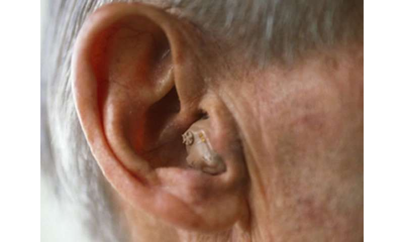 As hearing fades with age, dementia risk may rise