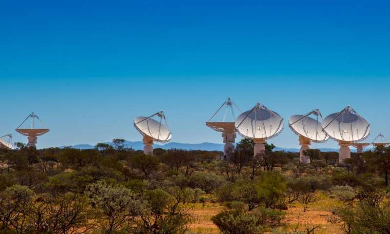ASKAP telescope to rule radio-burst hunt