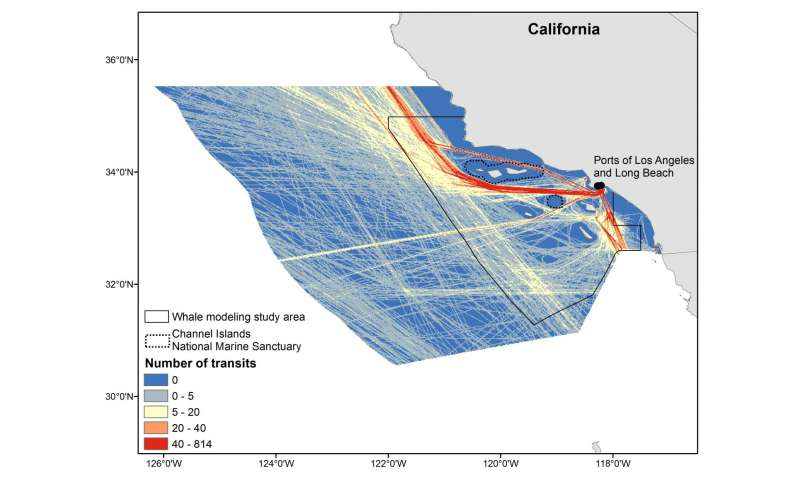 Assessing noise in Southern California whale habitat