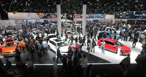 At Frankfurt's IAA auto show, European carmakers are looking east for growth.