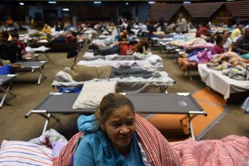 At least 11,000 people have sought shelter on the US territory of Puerto Rico