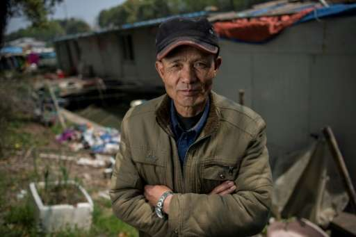 Authorities are offering $435 compensation per boat as part of Shanghai's move to relocate those living on its waterways, but ma